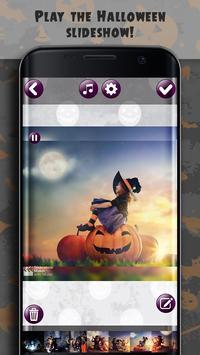 Halloween Photo Video Maker With Music screenshot 1