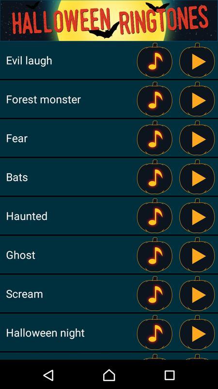 Geluiden Halloween.Halloween Beltonen Enge Geluiden For Android Apk Download