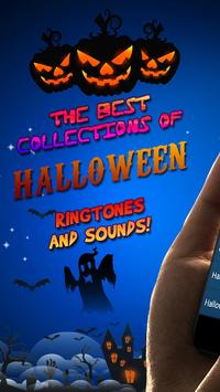 halloween theme ringtone and message alert tones poster