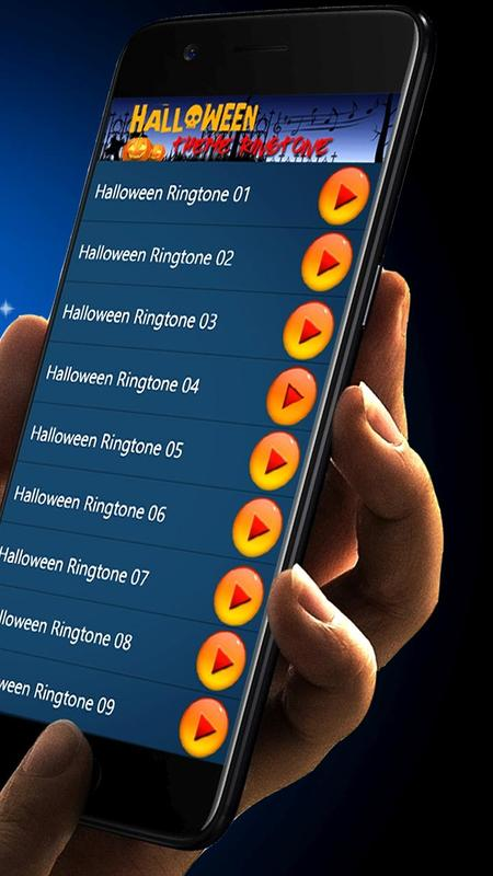 halloween theme ringtone and message alert tones for android