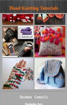 Hand Knitting Tutorials apk screenshot