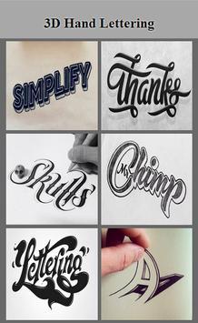 Hand Lettering 3D screenshot 2