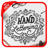 Hand Lettering icon
