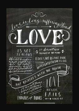Hand Lettering poster