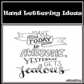 Hand Lettering Ideas icon