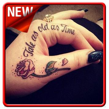 Hand Tattoo Designs For Girls poster
