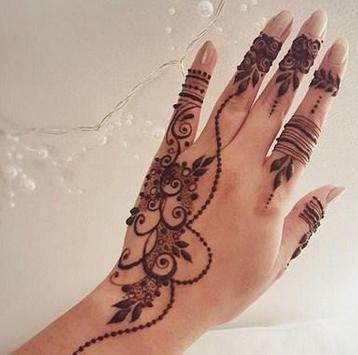 Hand Tattoo Designs For Girls screenshot 3
