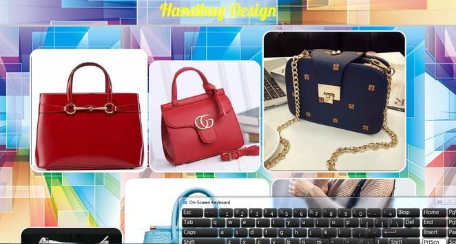 Handbag Design poster