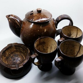 Handicraft from Coconut Shell icon