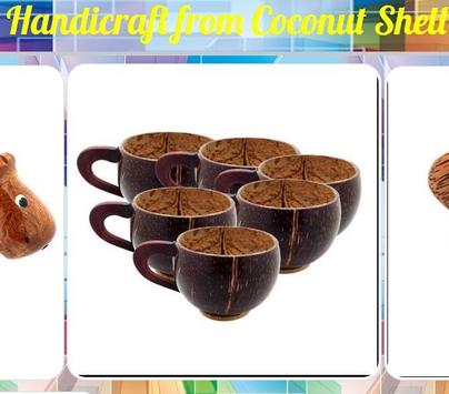 Handicraft from Coconut Shell poster