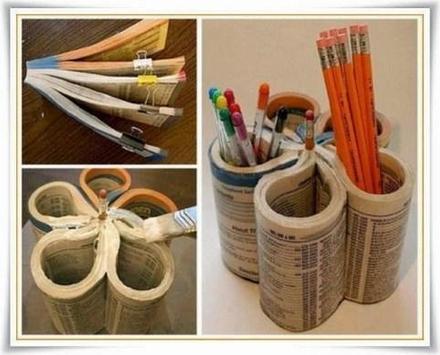 Handicraft From Used Goods apk screenshot
