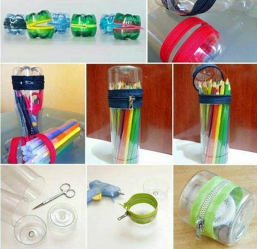 Handmade Plastic Bottle Ideas Poster