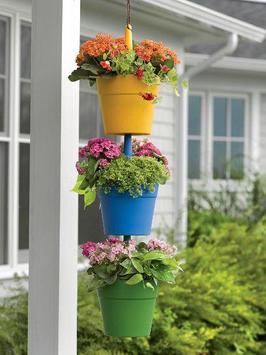 Hanging Flower Pots Ideas poster
