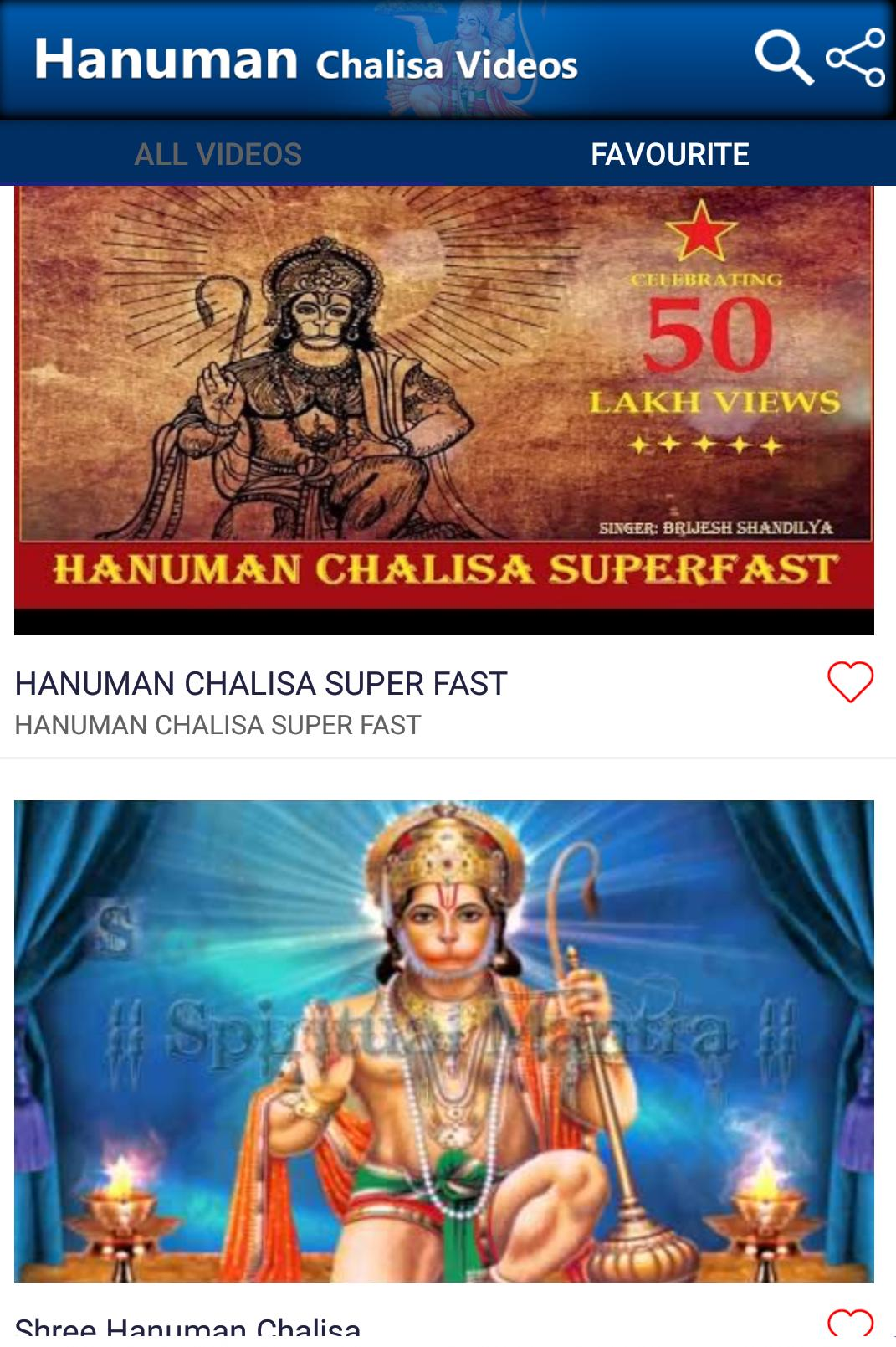 Hanuman Chalisa Videos for Android - APK Download