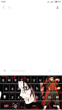 Hashirama Senju : Shodaime Hokage Keyboard apk screenshot