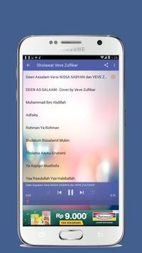 Deen Assalam Nissa Sabyan Vs Veve Zulfikar screenshot 3