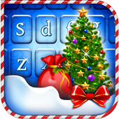Happy Christmas Tree Keyboard icon