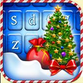 Happy Christmas Tree Keyboard icon