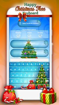 Happy Christmas Tree Keyboard apk screenshot