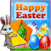 Happy Easter Wishes 🐰 Holiday Greeting Cards icon