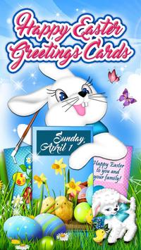 Happy Easter Wishes 🐰 Holiday Greeting Cards poster