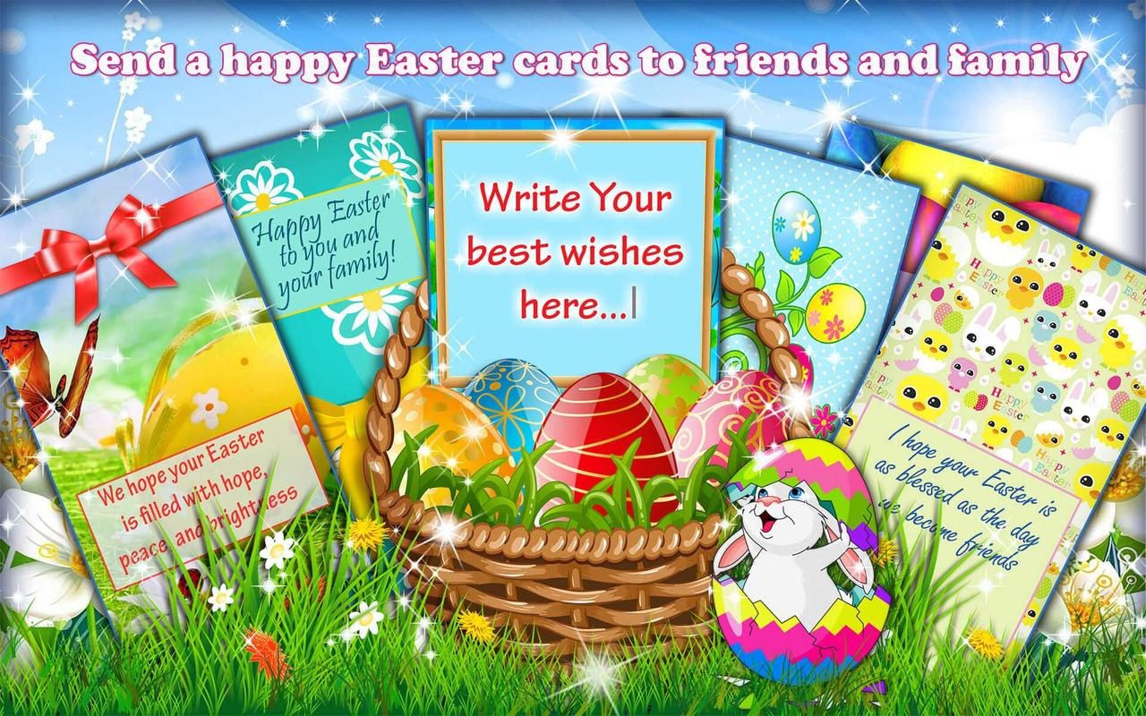 Happy Easter Wishes Holiday Greeting Cards For Android Apk Download