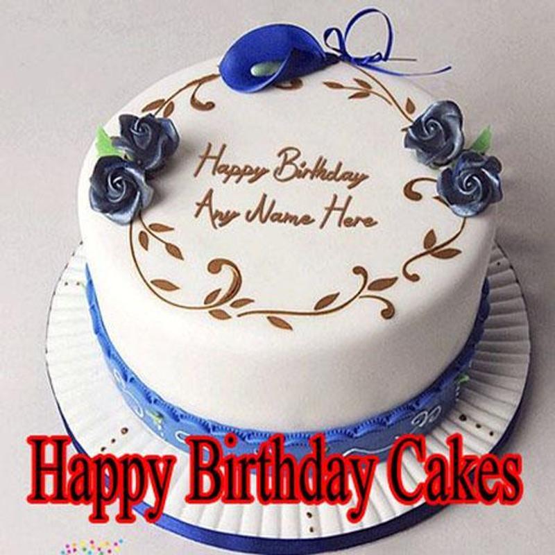 Happy Birthday Cakes Design Plakat
