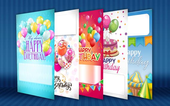 Happy Birthday Card Maker poster