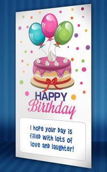 Happy Birthday Card Maker apk screenshot