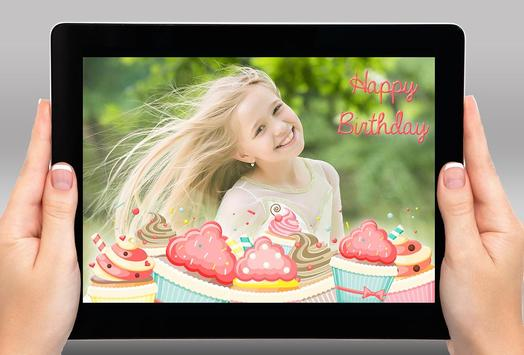 Happy Birthday Photo Frames apk screenshot