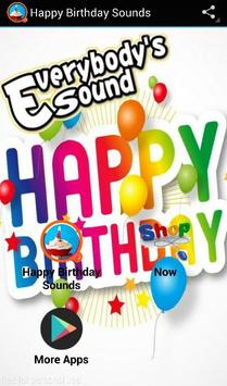 Happy Birthday Sounds poster