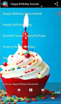 Happy Birthday Sounds apk screenshot