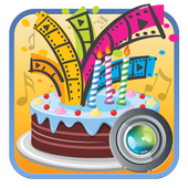 Happy Birthday Video Maker With Song And Photos icon