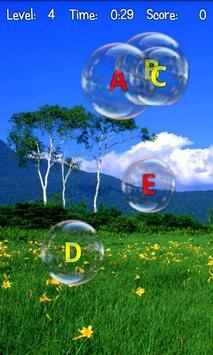 Bubble Pop ABC Kids Game Free apk screenshot