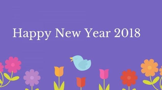 Happy New Year 2018 Wallpaper apk screenshot