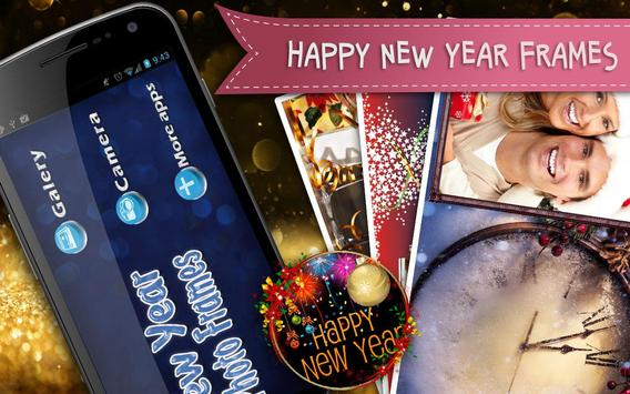 Happy New Year Frames poster