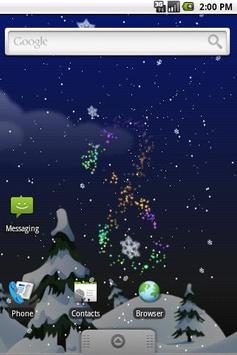 Winter Snow Live Wallpaper apk screenshot