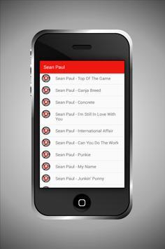 Sean Paul No Lie Song & Lyric apk screenshot