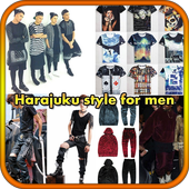 Harajuku style for men icon
