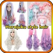Harajuku style hair icon