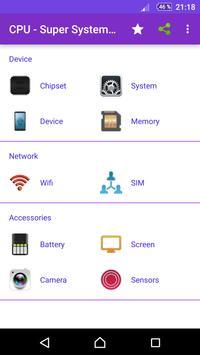 CPU - Super System Hardware information 100% screenshot 1