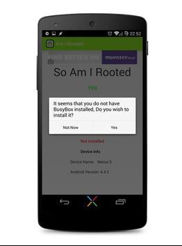Am I Rooted [Root Checker] apk screenshot