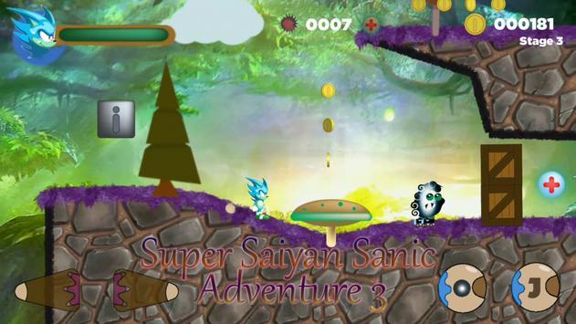 Super Saiyan Sanic Adventure 3 poster
