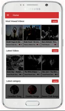 Hard Rock Songs screenshot 1