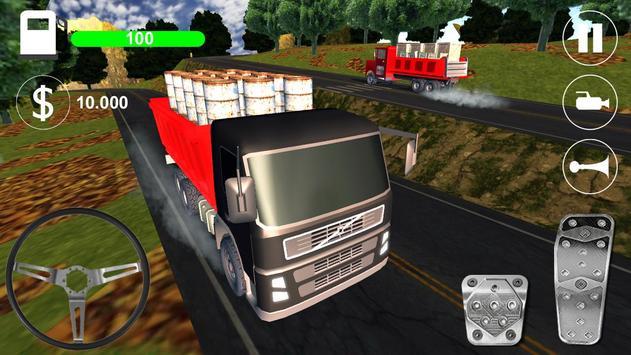 Hard Truck Driving apk screenshot