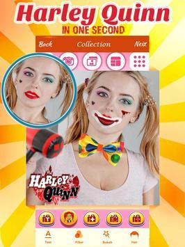 Harley Quinn Makeup poster