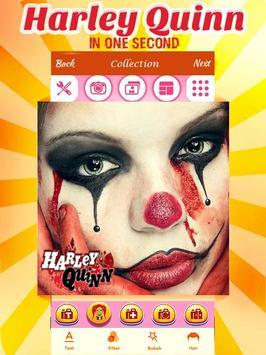 Harley Quinn Makeup apk screenshot