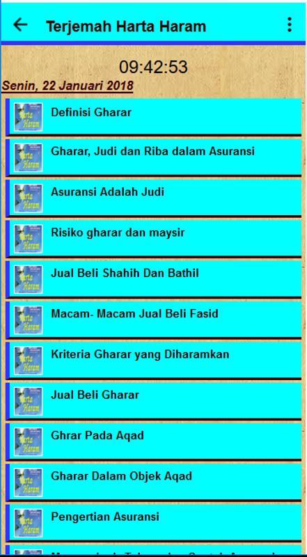 Terjemah Harta Haram For Android Apk Download
