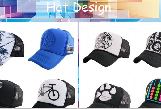 Design Your Hats poster