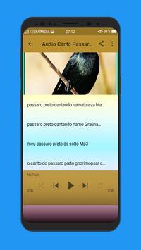 Canto Passaro Preto Grauna Mp3 screenshot 3